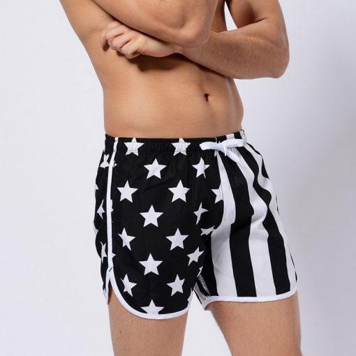US Flag Beach Boards Shorts 3