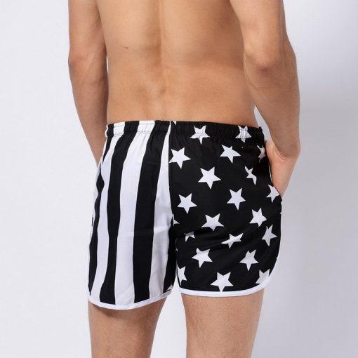 US Flag Beach Boards Shorts 5